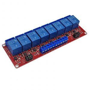 Module relay với opto cách ly kích H/L 24VDC 10A
