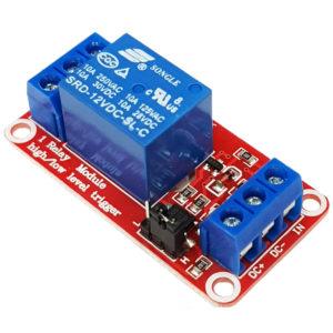 Module 1 Relay Với Opto Cách Ly Kích H/L (12VDC)